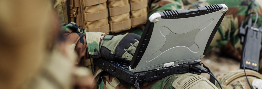 Panasonic Toughbook in Military Applications